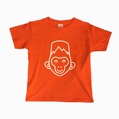 Orange t-shirt children's size